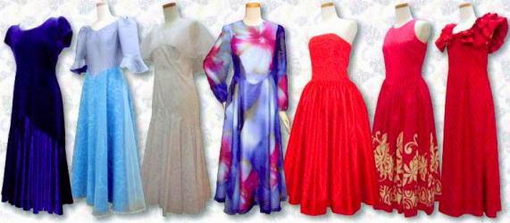 オーダードレス フラダンスの衣装をオリジナルで作成します。